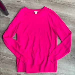 Right Pink JCrew Sweater